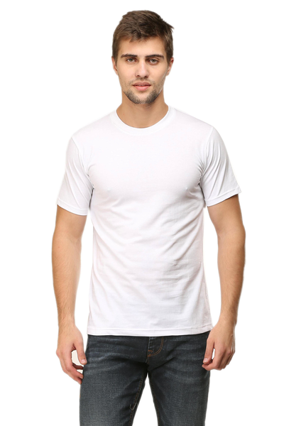 plain white t shirt