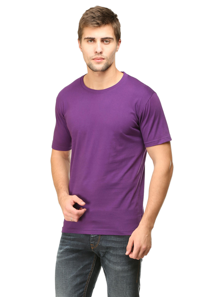 purple colour shirt
