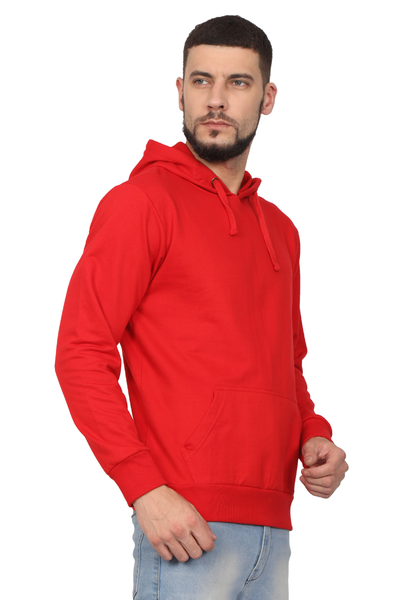 red sweatshirt mens