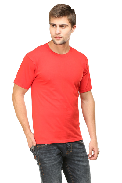 red t shirt mens
