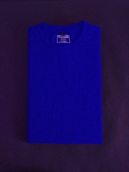solid royal blue tshirt