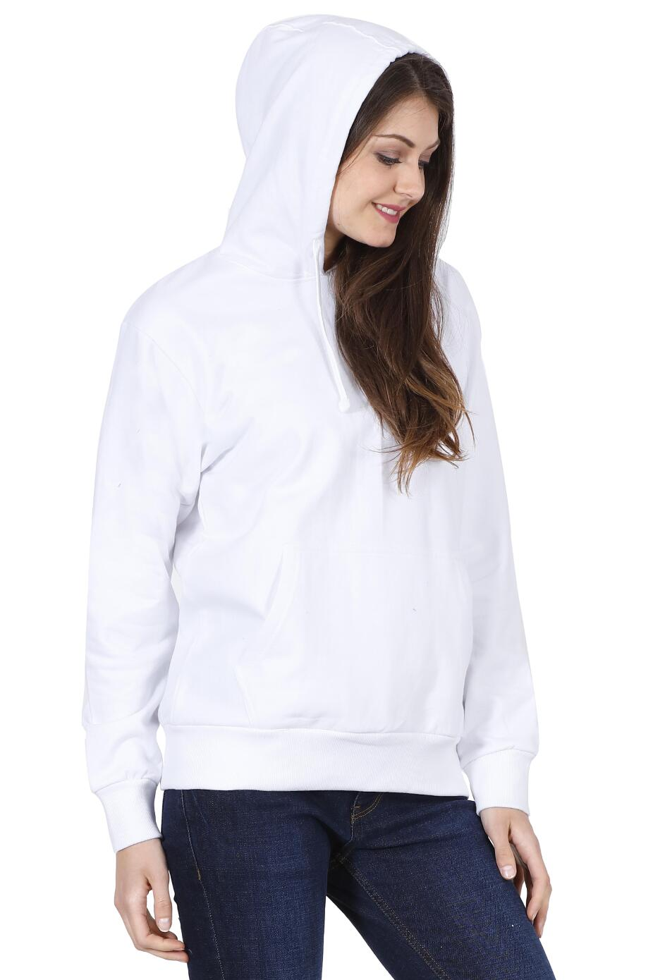 white sweatshirt womens