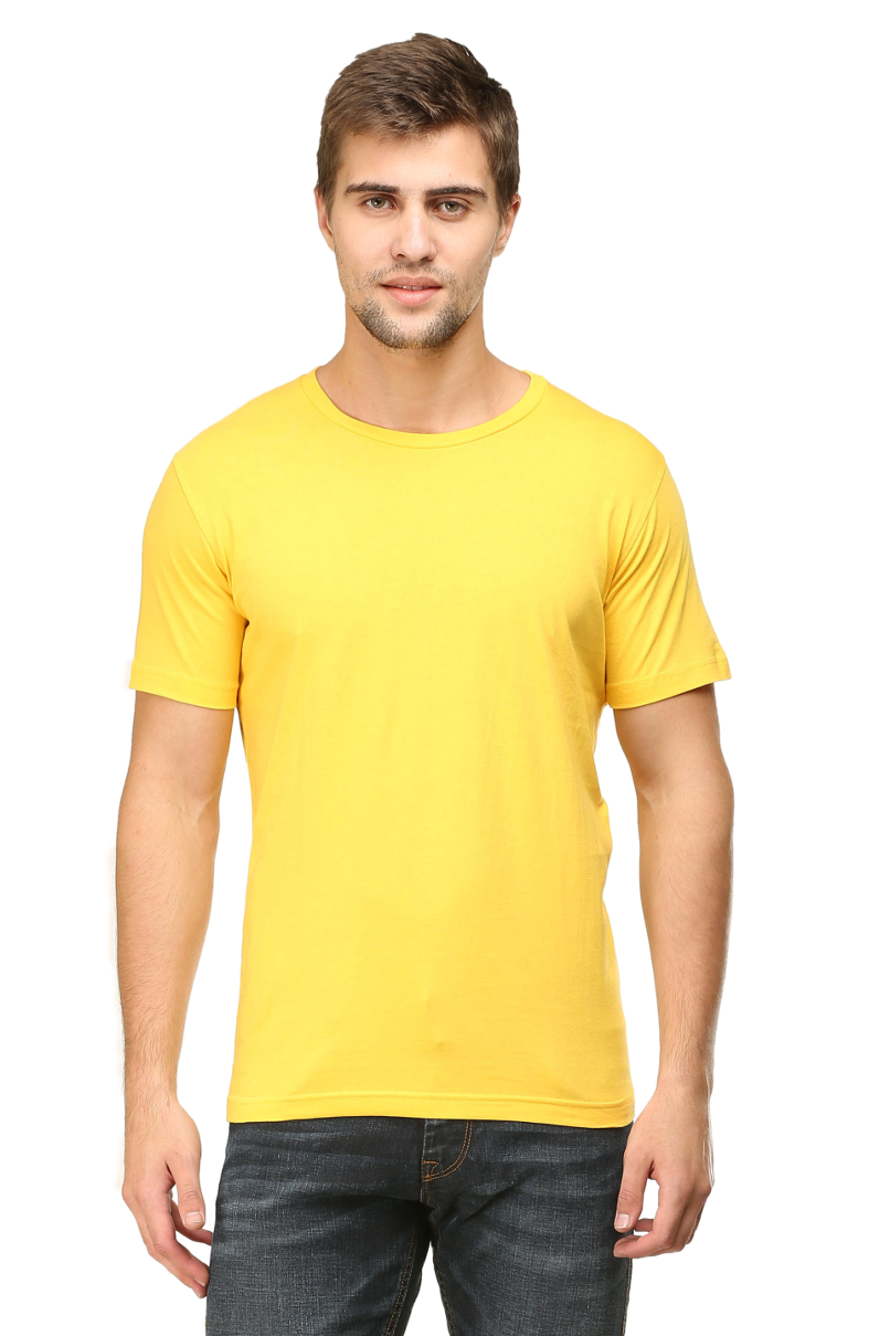 yellow colour t shirt
