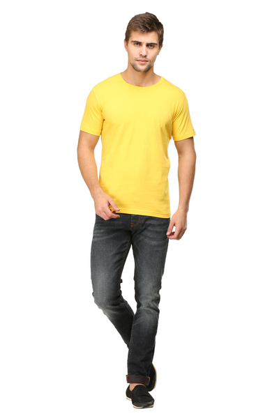 yellow t shirt mens