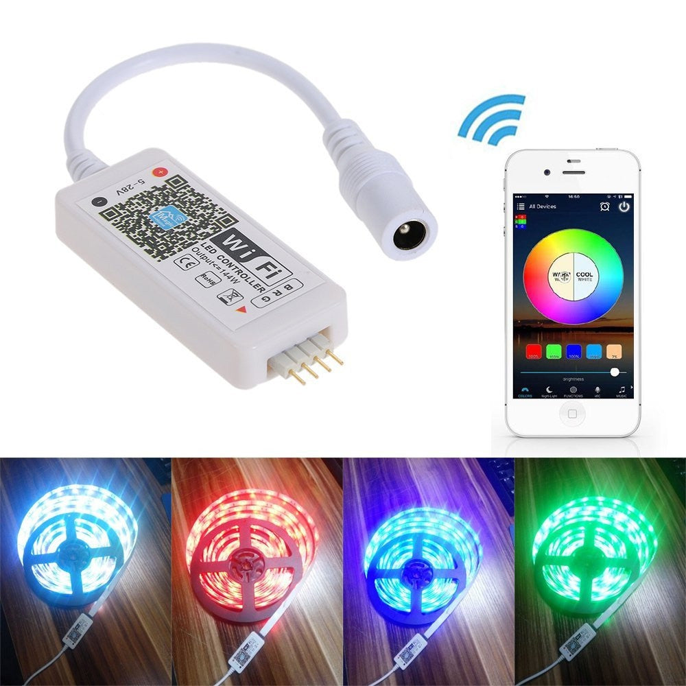 Wifi Smart Controlled LED Strip Light US plug