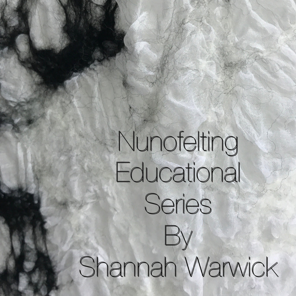 What is Nunofelting or Wet Felting? An educational series is coming.