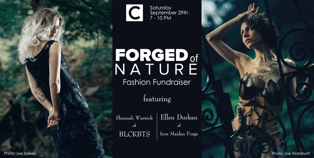 Forged of Nature, Sept 29th at Delaware Contemporary