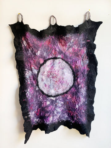 Full Moon Altar Piece in Violet