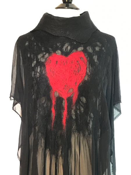 Bleeding Heart Kaftan