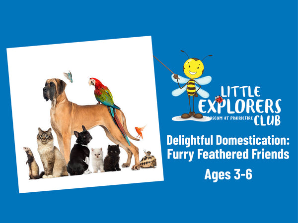 Little Explorers Club + Delightful Domestication: Our Furry and Feathered Friends