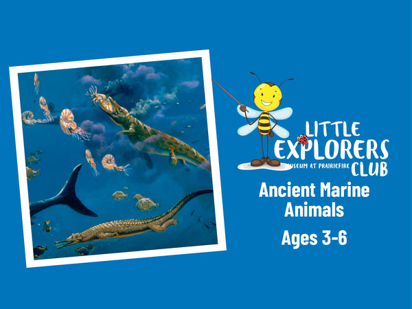 Little Explorers Club + Ancient Marine Animals: Rulers of the Sea Long Ago