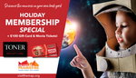 2018 Holiday Membership Special