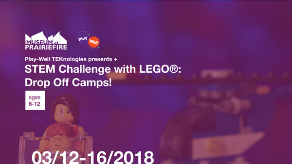 STEM Challenge with LEGOⓇ Drop Off Camps + March 12-16, 2018 + Ages 8-12