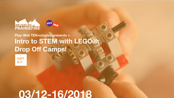 Intro to STEM with LEGOⓇ Drop Off Camps + March 12-16, 2018 + Ages 5-7