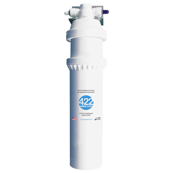 422water Filtration System Including $99 Filter Replacement Subscription