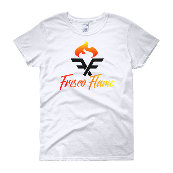 Torchbearer Tee Ladies Cut White