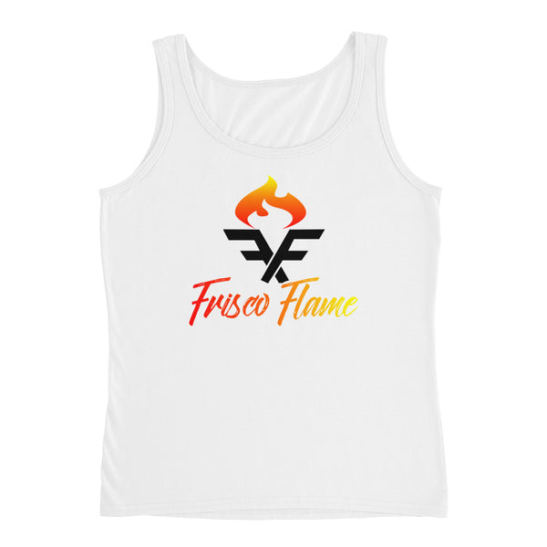 White Torchbearer Ladies' Tank