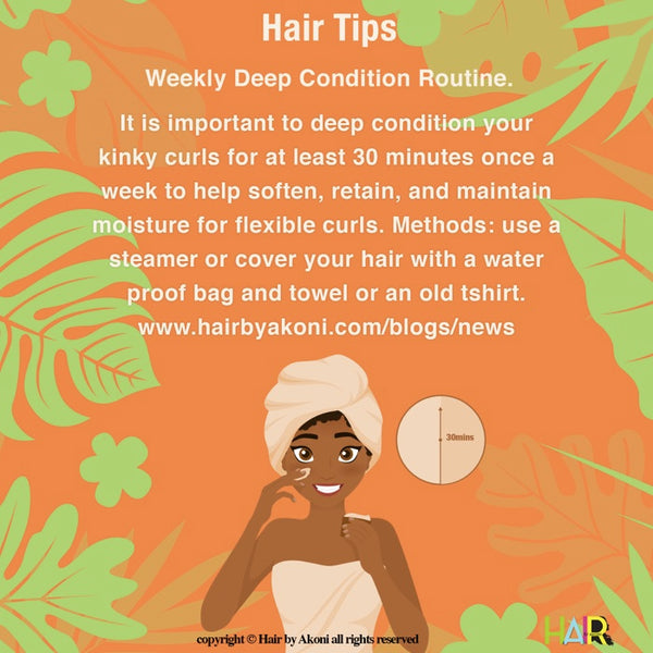 Deep Condition Your Hair Weekly