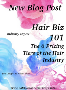 Hair Biz: The 6 Pricing Tiers of the Hair Industry