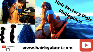 Philippino Hair Factory Visit