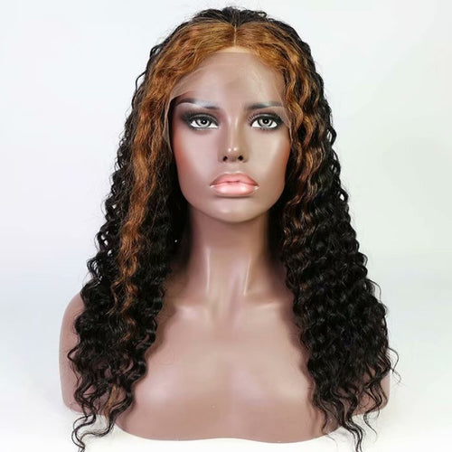 1B/30 Highlight Deep Curly Full Lace Wig - Hair By Akoni
