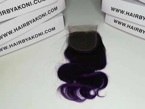 "3 Tone Ombre Frontal 18"" Bundle - Hair By Akoni"