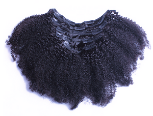 Clip-Ins : Afro Kinky Curly - Hair By Akoni