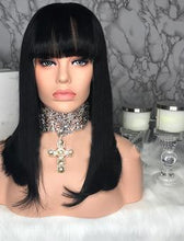 Bob with Bangs Full Lace Wig - Hair By Akoni