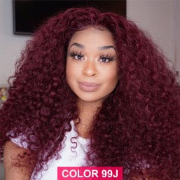 99J Deep Curl Full Lace Wig - Hair By Akoni