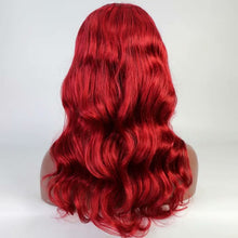 Red Body Wave Full Lace Wig - Hair By Akoni