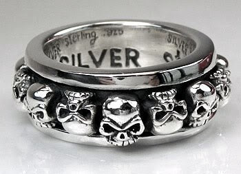 Spinner Mens Ring