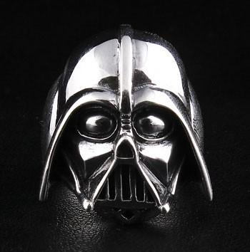 Darth Vader Ring-silverringsmens