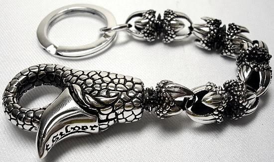 Dragon Claw Key Chains-silverringsmens
