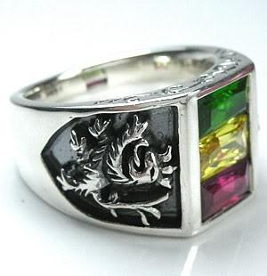 Lion of Judah Ring-silverringsmens