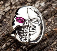 Two Face Ring-silverringsmens
