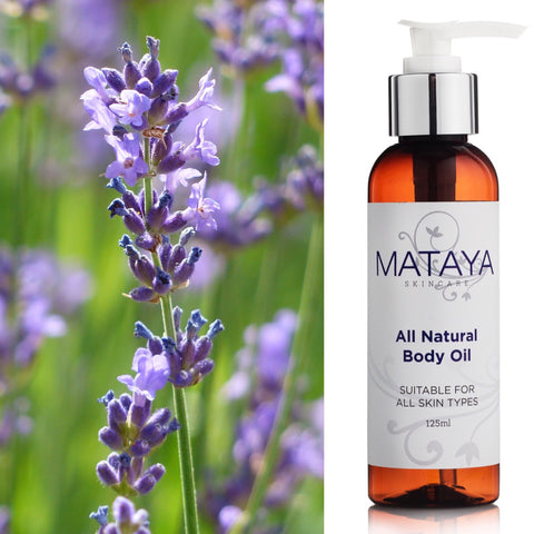 All-Natural Body Oil - with Australian Lavender Oil