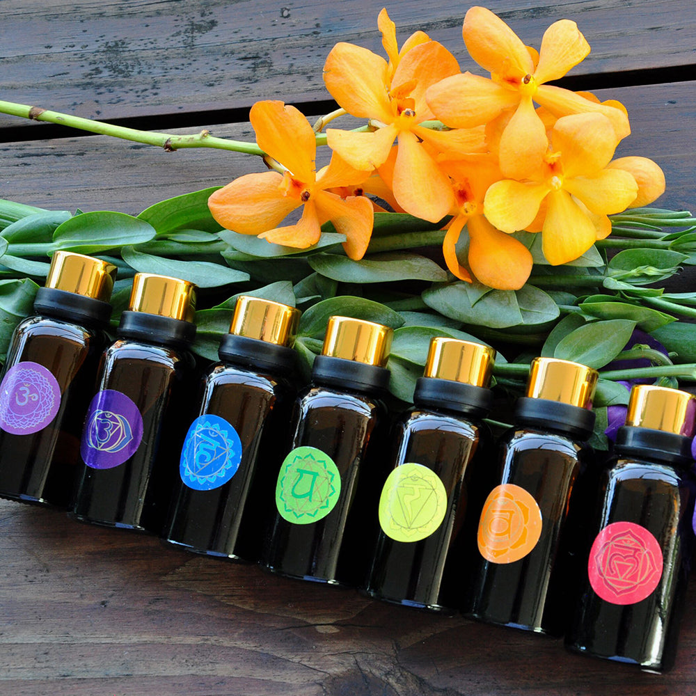 Chakra Oil Set Of 7