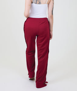 SNAP TRACK PANTS - RED