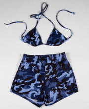 CAMO 2PC SET - BLUE