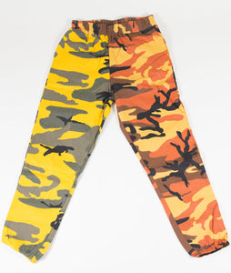 BB CAMO PANTS - YELLOW/ORANGE