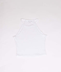 Flame Halter - White