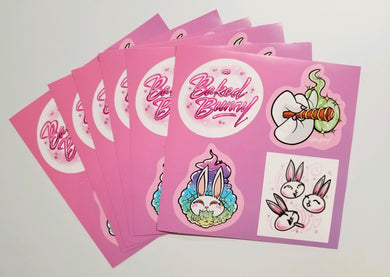 BUNNY STICKER SHEET