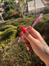 Glitter Dabber - Multi Pink Red