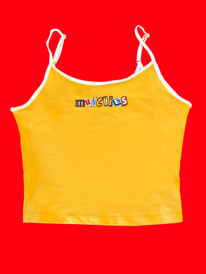 MUNCHIES CROP TOP - YELLOW