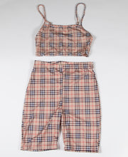 PLAID 2 PIECE SET