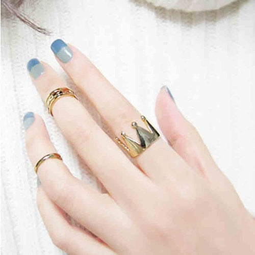 Crown Ring 3pcs Set
