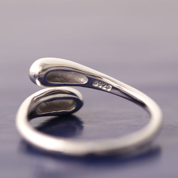 925 sterling silver  Simple and smooth rings