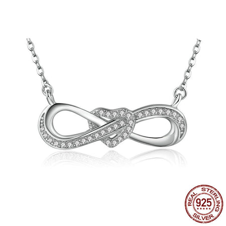 925 Sterling Silver Line winding love bracelet