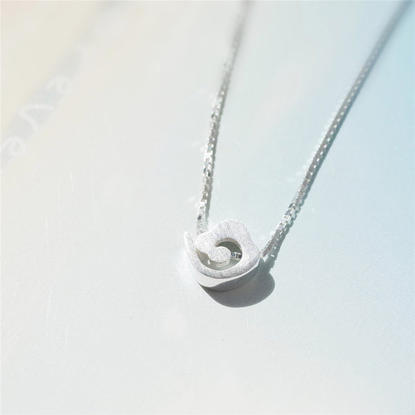 925 Sterling Silver Xiangyun pendant necklace