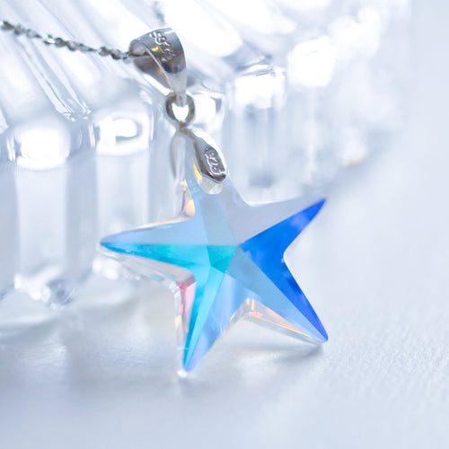 Christmas Star clavicle chain